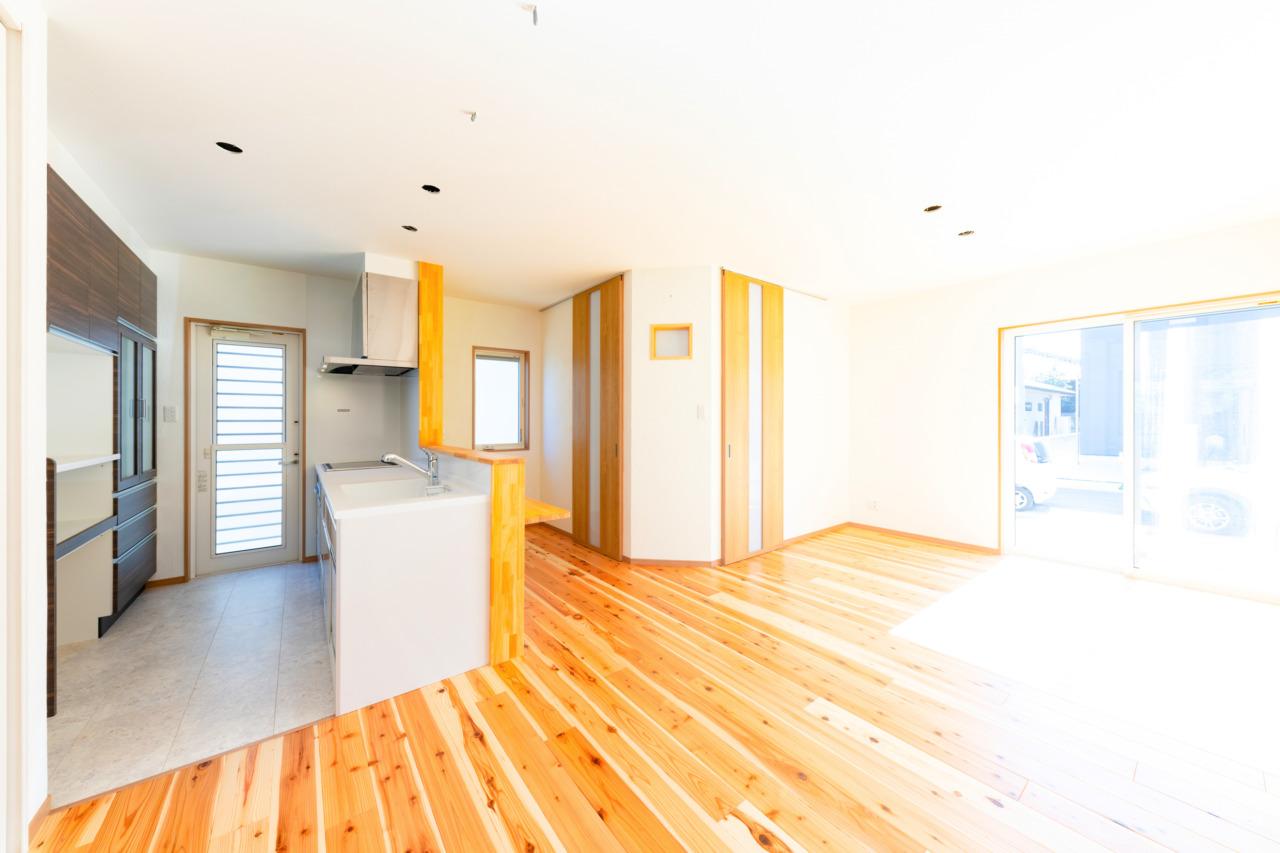 建築事例集に「デッドスペースをとことん無くした家」を追加しました